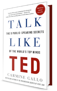 """Talk LIke TED"" Book cover"